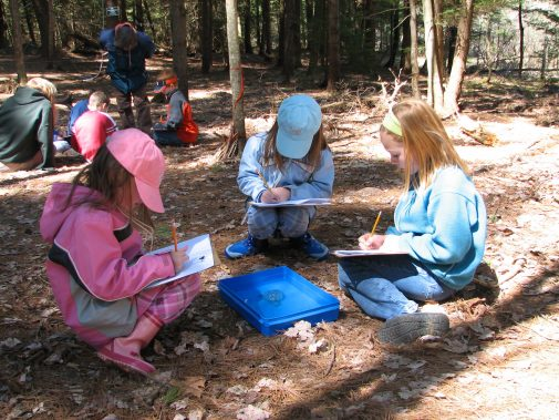 Children at April vacation camp.