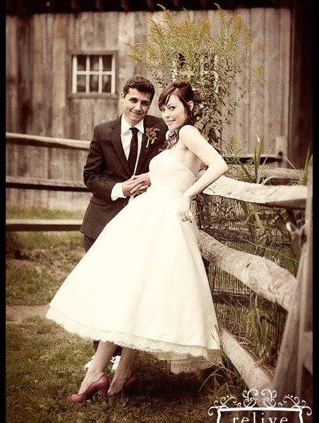 Low color vibrance wedding photo